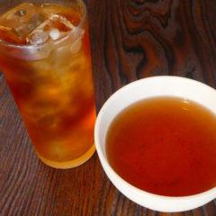 ほうじ茶 ICE(水出し)・HOT ¥350(税抜)
