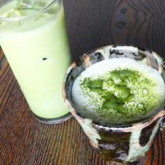抹茶ラテ ICE・HOT ¥480(税抜)