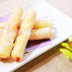 明太子とチーズの春巻き ¥450(税抜)
