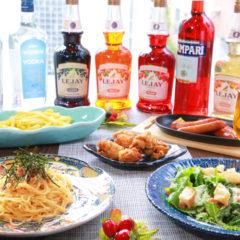 料理5品・2時間飲み放題付¥3500コース(税込)