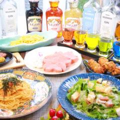 【女子会コース】料理6品・2時間飲み放題付¥4000コース(税込)