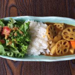 【ある日のワンプレートランチ】根菜カレー ¥850(税抜)