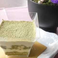 玄米茶のティラミス