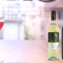 イタリア産ワイン Spinelli(スピネッリ)赤・白 グラスのみALL¥500(税抜)