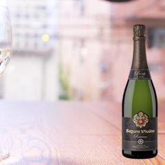 スペイン産スパークリングワインSegura Viudas(セグラヴューダス)ハーフボトル375ml 白¥2200(税抜)ロゼ¥2500(税抜)